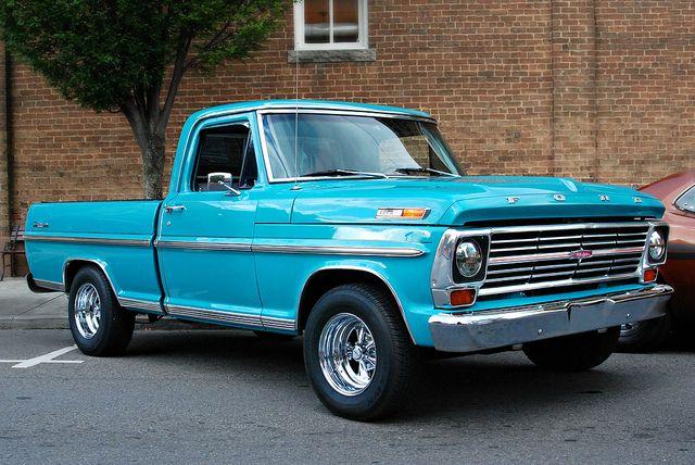 1968 Ford F 100 Ranger Classic Ford Trucks Ford Trucks Classic