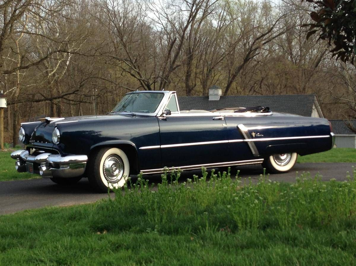 Lincoln Capri Convertible 1953. Maintenance/restoration of old ...