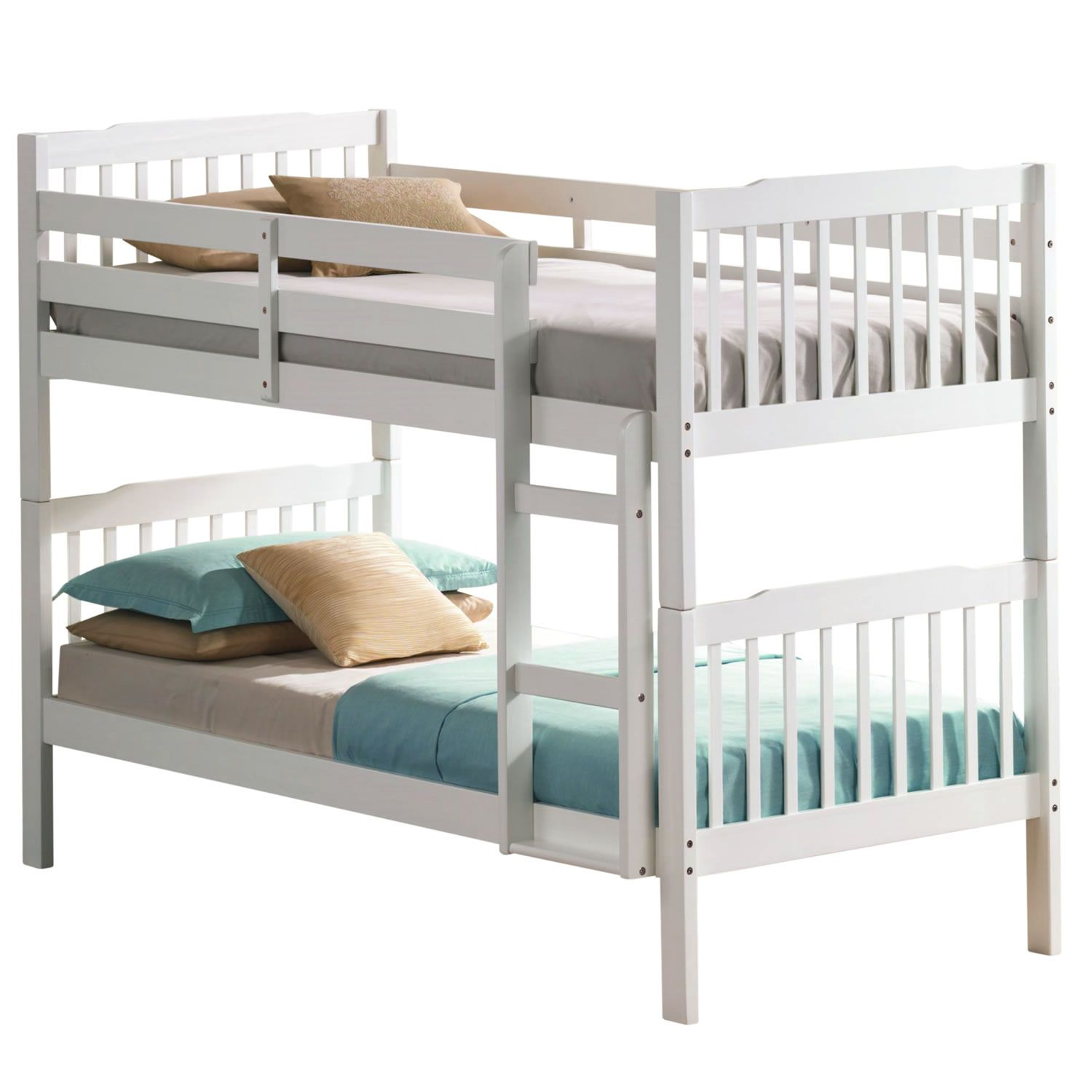Grasty Campervan Style Kids Bunk Bed In White And Blue