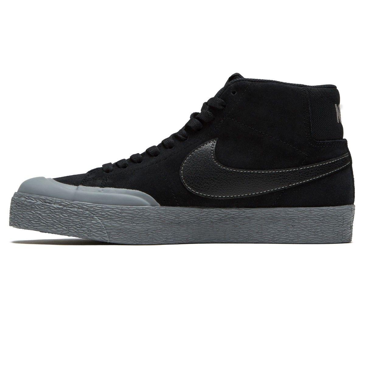Nike SB Zoom Blazer Mid XT Shoes BlackMettalic Pewter