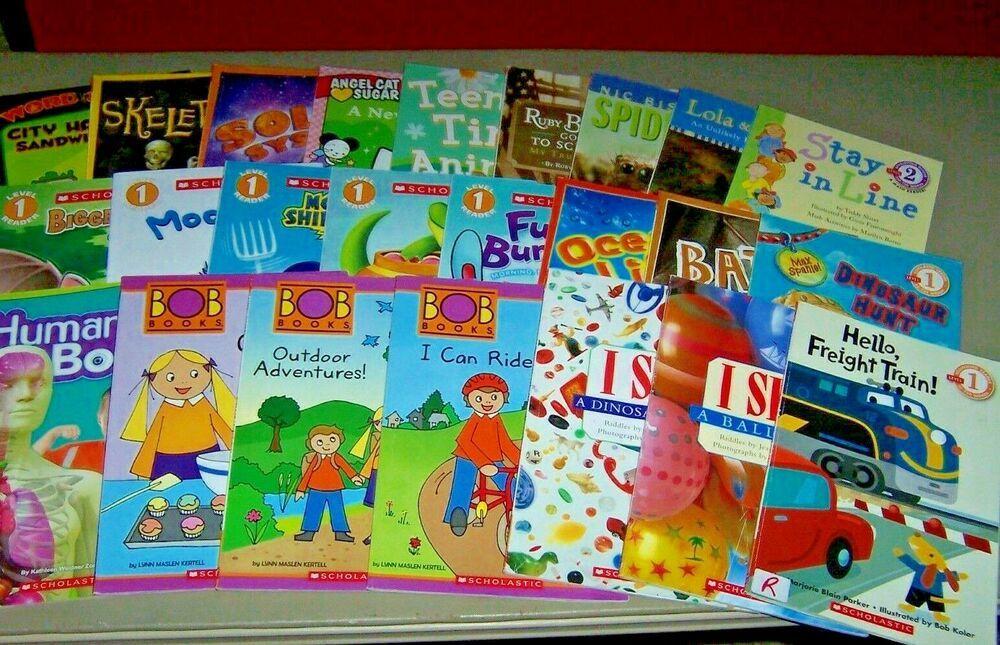 24 books scholastic beginning readers l 12 kindergarten