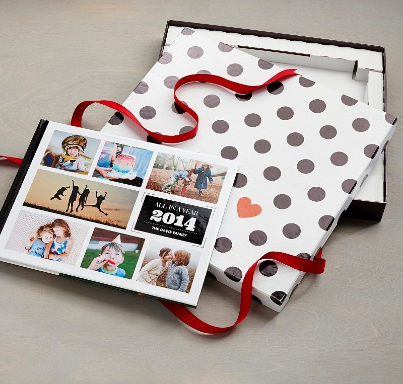 Did you know Shutterfly offers a fun gift box for your photo book? Help craft a place for their favorite memories this holiday season. | Shutterfly