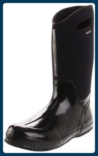 1100e513ef Bogs , Damen Arbeits-Gummistiefel , schwarz - schwarz - Größe: 42 2/3 -  Stiefel für frauen (*Partner-Link)