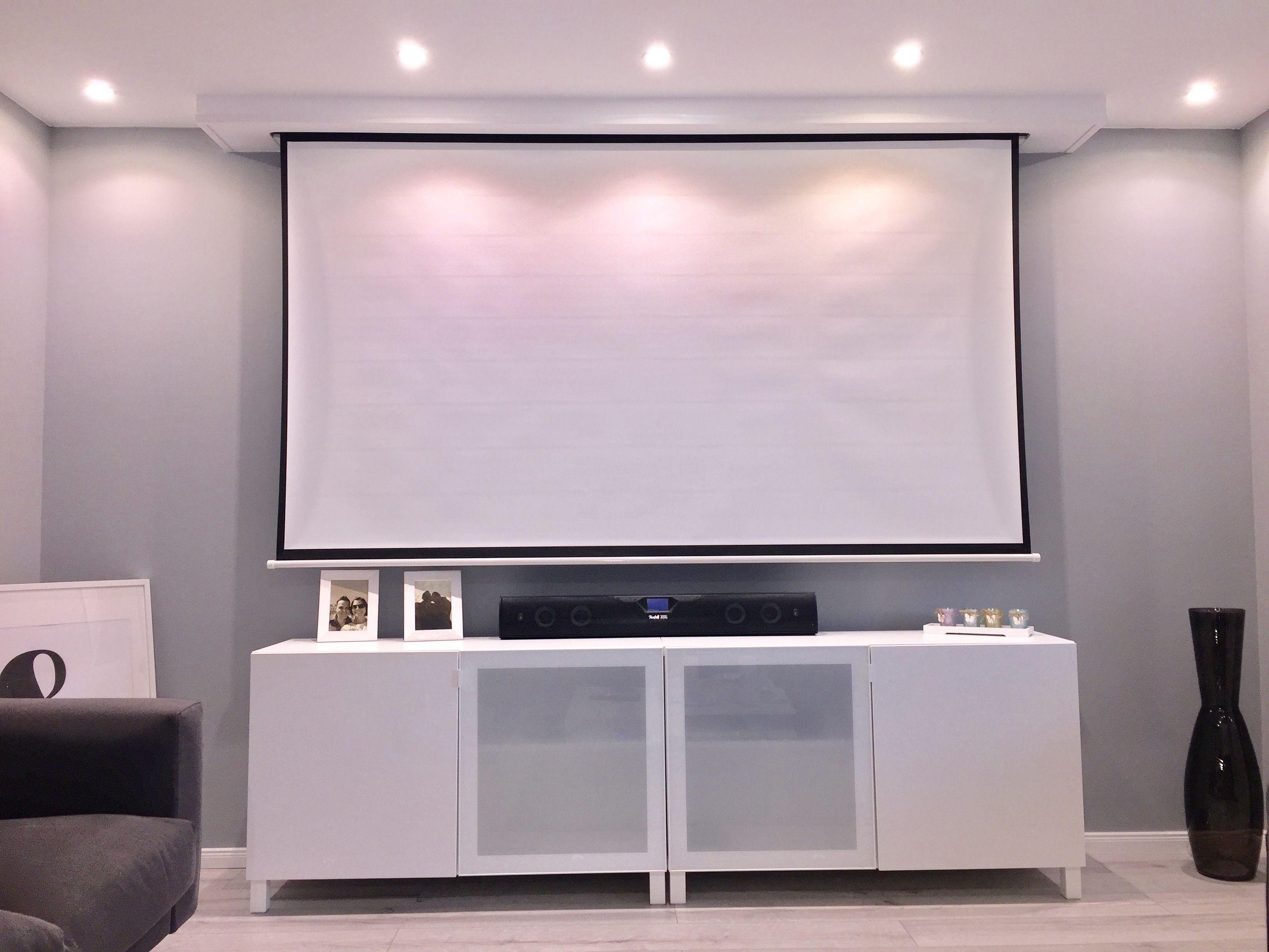 Backlit Projector Screen Projectorscreen Basements T