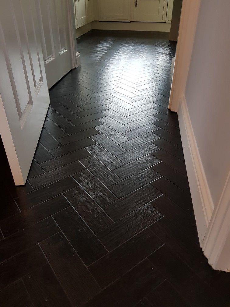 Ap Black Oak Herringbone Laminate Flooring Wood Floors Flooring