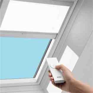 solar skylight blinds