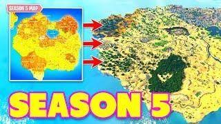 New Season 5 Map Leaked In Fortnite Fortnite Funny Fails Wtf