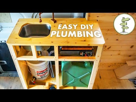Photo of Cheap & Easy DIY Camper Van Plumbing System – Van Life