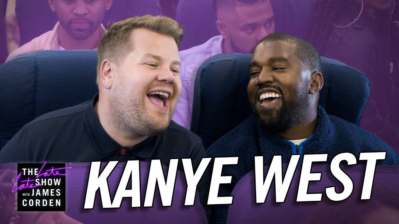 Kanye West Airpool Karaoke Best Video I Ve Seen All Day Karaoke Carpool Karaoke