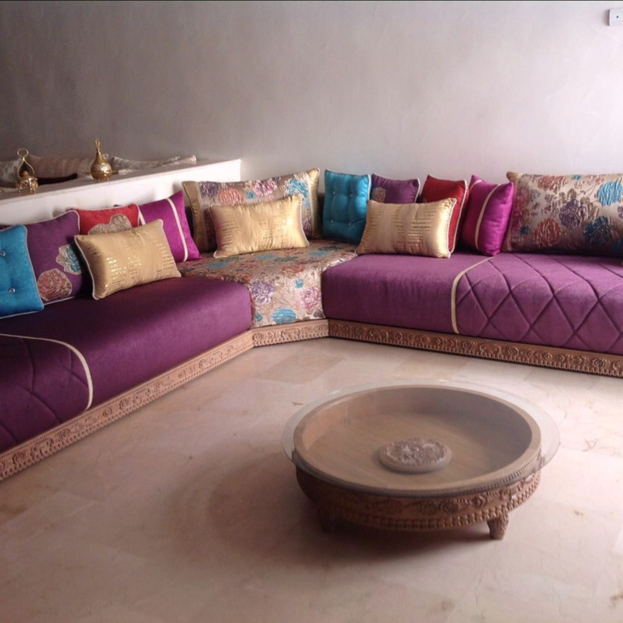 Sejour | modele | Pinterest | Salons, Moroccan and Sitting rooms