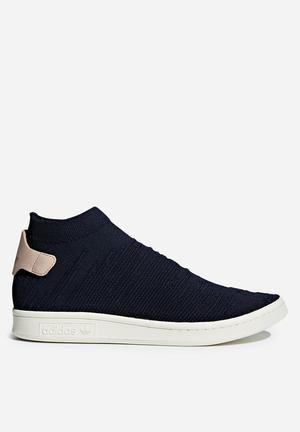 adidas originali stan smith sock pk w scarpe leggenda inchiostro f17 / ash