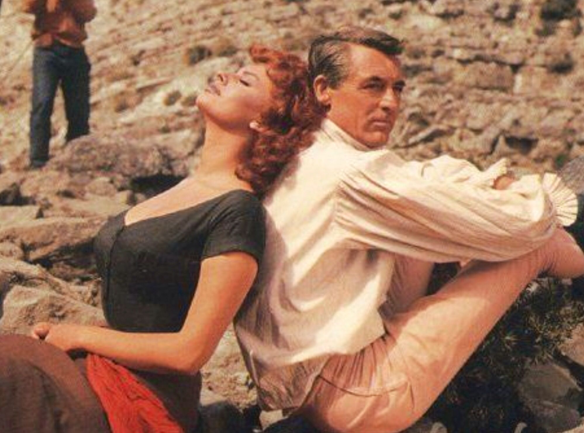 the pride and the passion Cary grant, Sophia loren