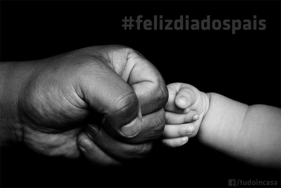 Card Facebook para o Tudo in casa comemorativo de Dia dos Pais. Acesse a página no Facebook http://www.facebook.com/tudoincasa