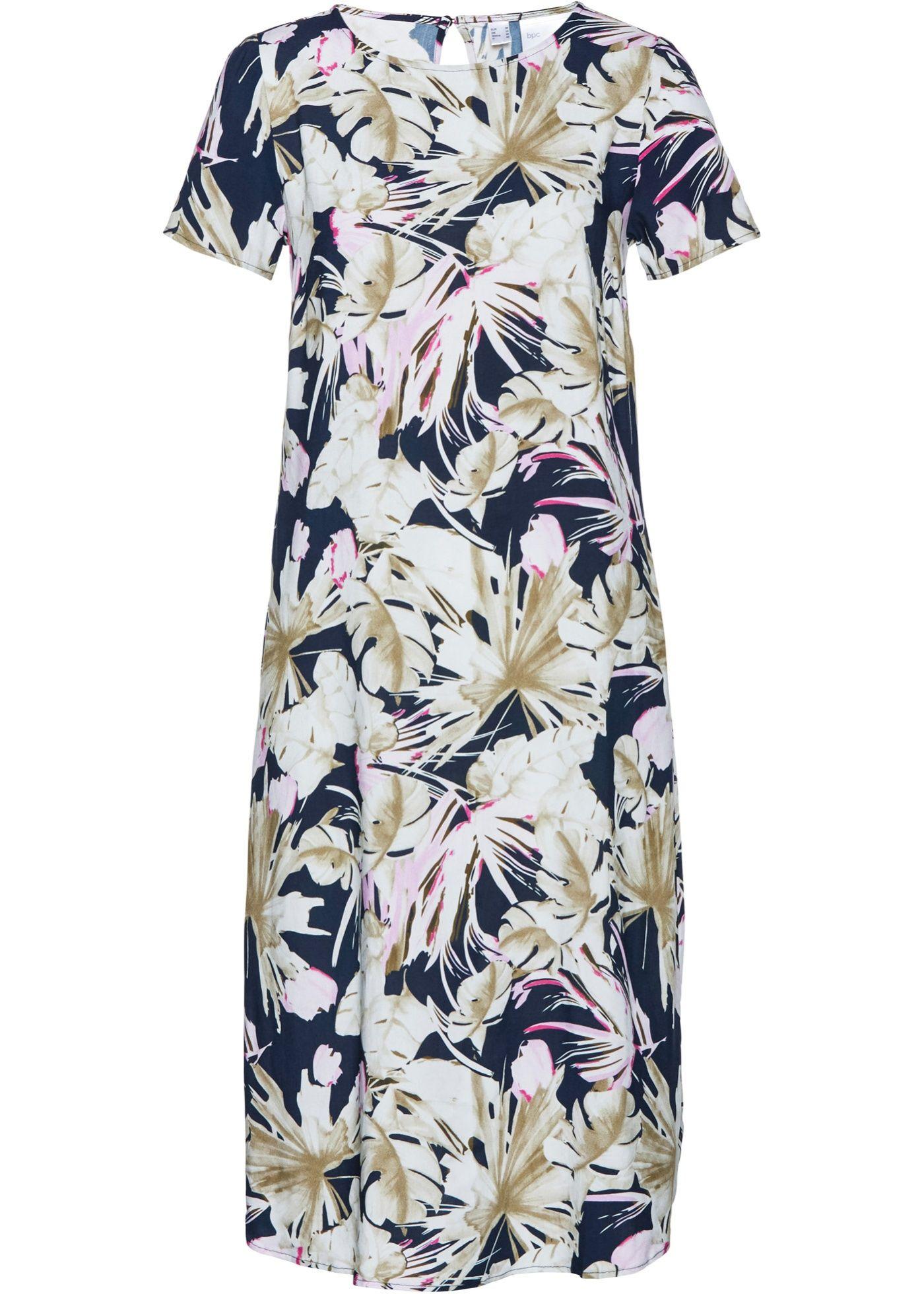 Šaty s potiskem | Kleider, Modestil, Kleid mit ärmel