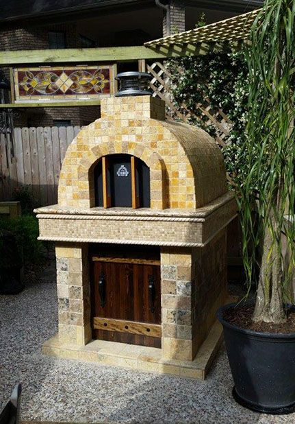 Wood Fired Outdoor Pizza Oven by BrickWood Ovens Cuptoare