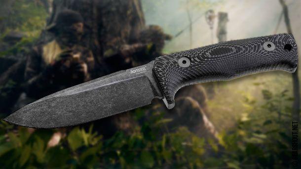 LionSTEEL выпустил утилитарный нож с фиксированным клинком  LionSTEEL T5 Knife