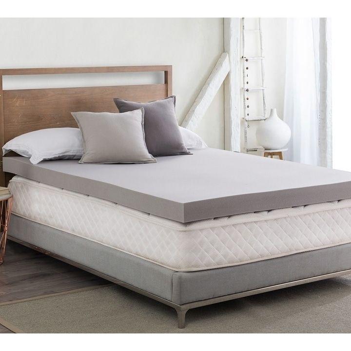 Foam Mattress Topper Twin Xl Bedding, Queen Mattress Topper On Full Xl Bed