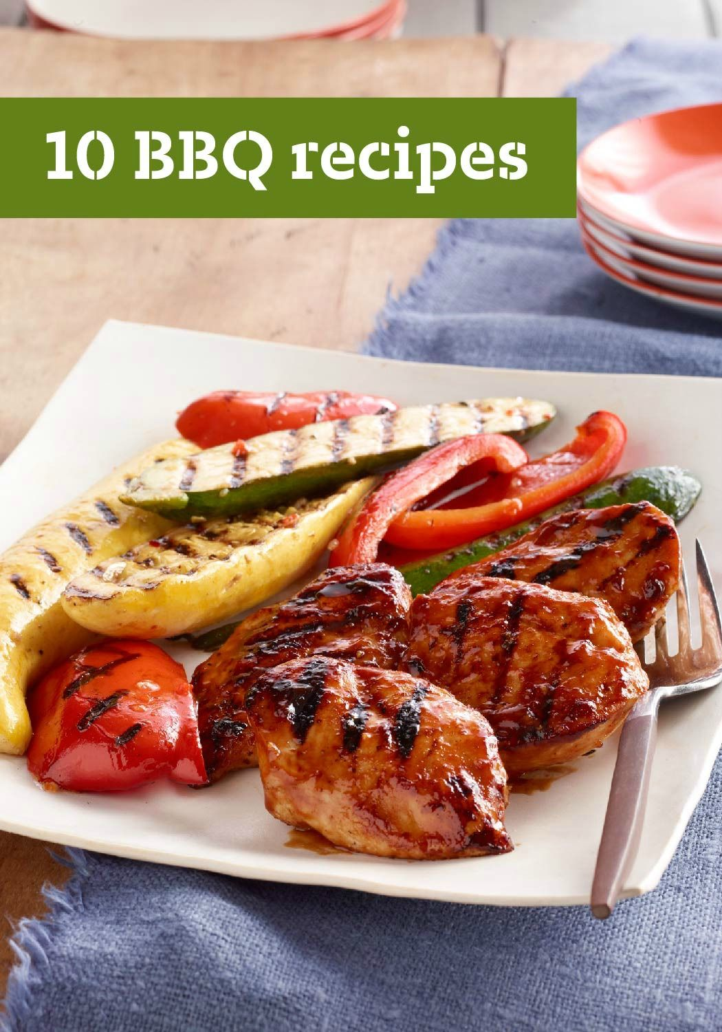 10 BBQ Recipes – Firing up the grill for an easy dinner is just what you're looking for in the middle of summer. You know you can grill the usual suspects, but what about grilling a dessert when the coals are still hot? We've got your guide to grilling right here.