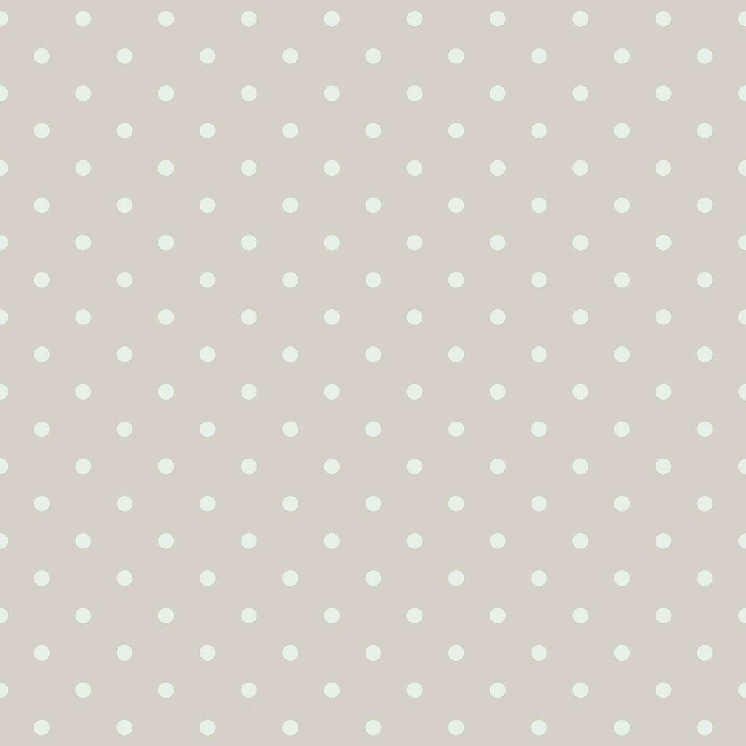 tienda online telas papel papel pintado lunares vintage color beige papel pintado lunares - Papel Pintado Lunares