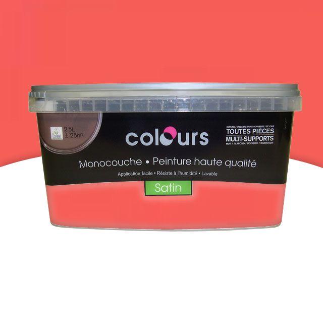 Peintur Colours Multisupports Corail Castorama Peinture