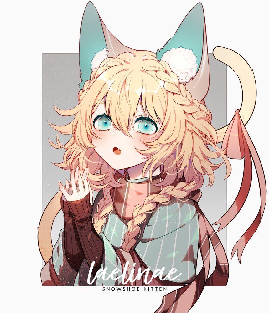 """""""Nyaa!"""" [Original?] Anime, Động vật, Dễ thương"""