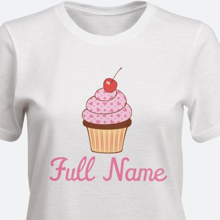 TooLoud Colorful Cupcake Pattern Infant T-Shirt
