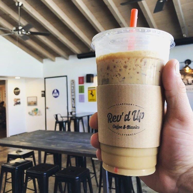 New Coffee Shop In Claremont Rev D Up Via Claremont Village Dunkin Donuts Coffee Cup Bites And Brews Dunkin Donuts Coffee