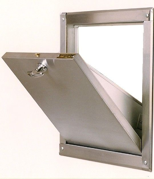 Trash Chute Design : Trash and linen chute replacement doors kitchen