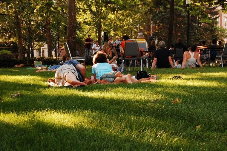 Summer Concert Series, organized by the Purdue Student