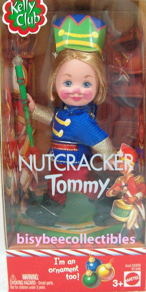 Lfok Xmas Nutcracker Tommy Doll B1348 Kelly Club Ornament 2003 Mattel Nrfb Mattel Barbie Sisters Mattel Beautiful Barbie Dolls