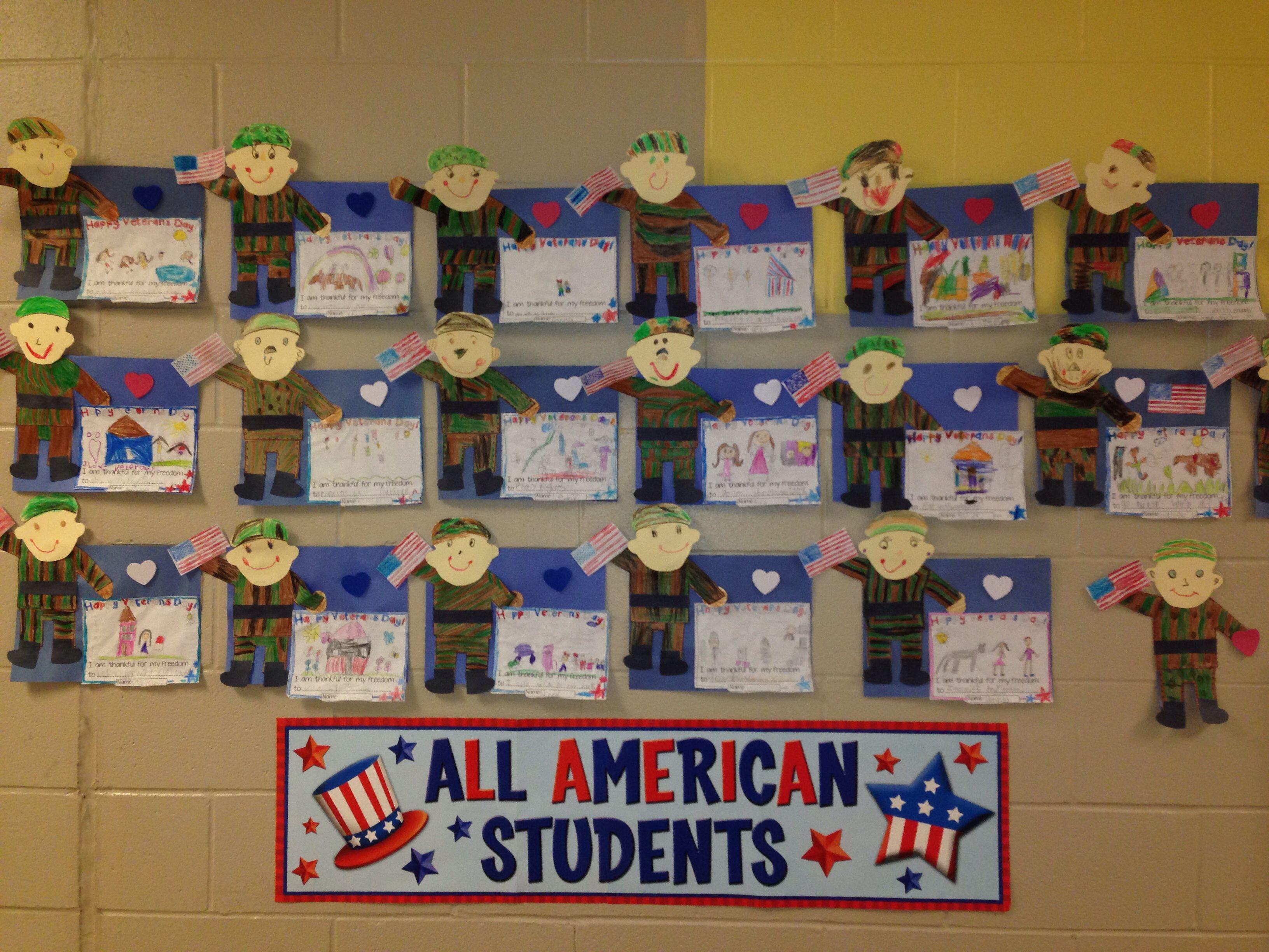 Veterans Day Activity Kindergarten