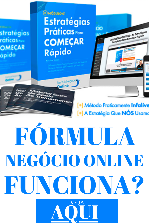 o formula negócio online funciona