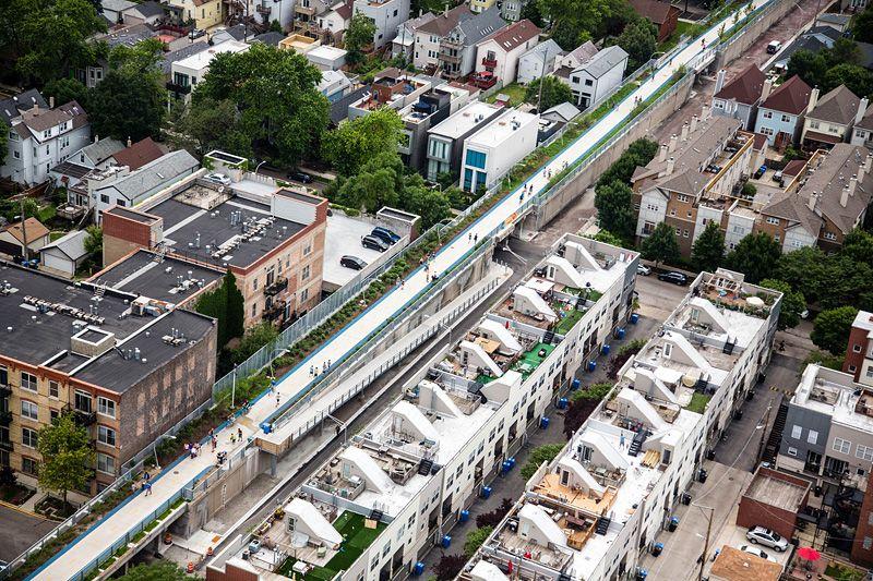 rigenerazione urbana THE 606   luogo: Chicago, IL progettisti: Michael Van Valkenburgh Associates, Inc. anno: 2008–2014