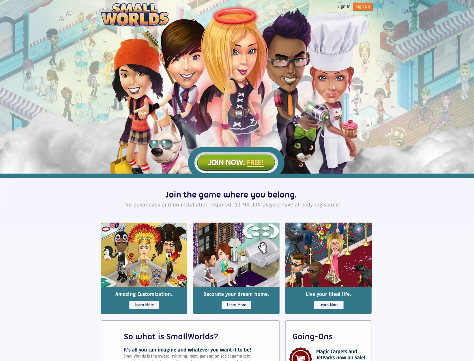 SmallWorlds The Game Where You Belong! Play free now at