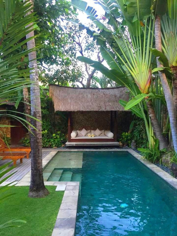 30 Awesome Swimming Pool Garden Design Ideas Luxury Pools Backyard Small Pool Design Small Backyard Pools