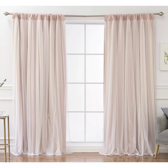 Harborcreek Solid Blackout Thermal Rod Pocket Curtains In 2020 Curtains Rod Pocket Curtains Girl Curtains