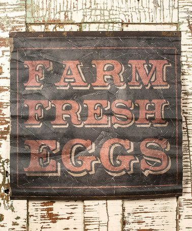 Another great find on #zulily! Eggs Scroll Wall Art #zulilyfinds  ($22)