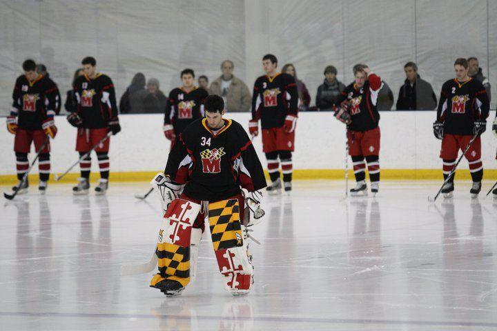 Great Pads Matt Mitchell Maryland Hockey Goalie Goalie Sports