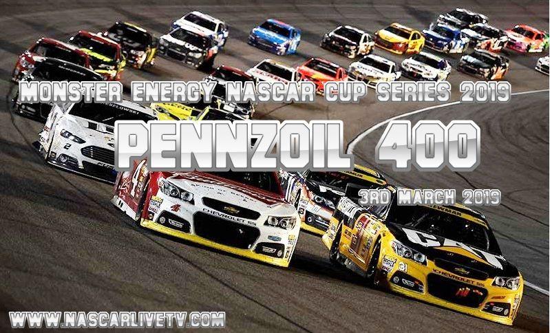Live NASCAR Pennzoil 400 Online 2019 Nascar, Las vegas