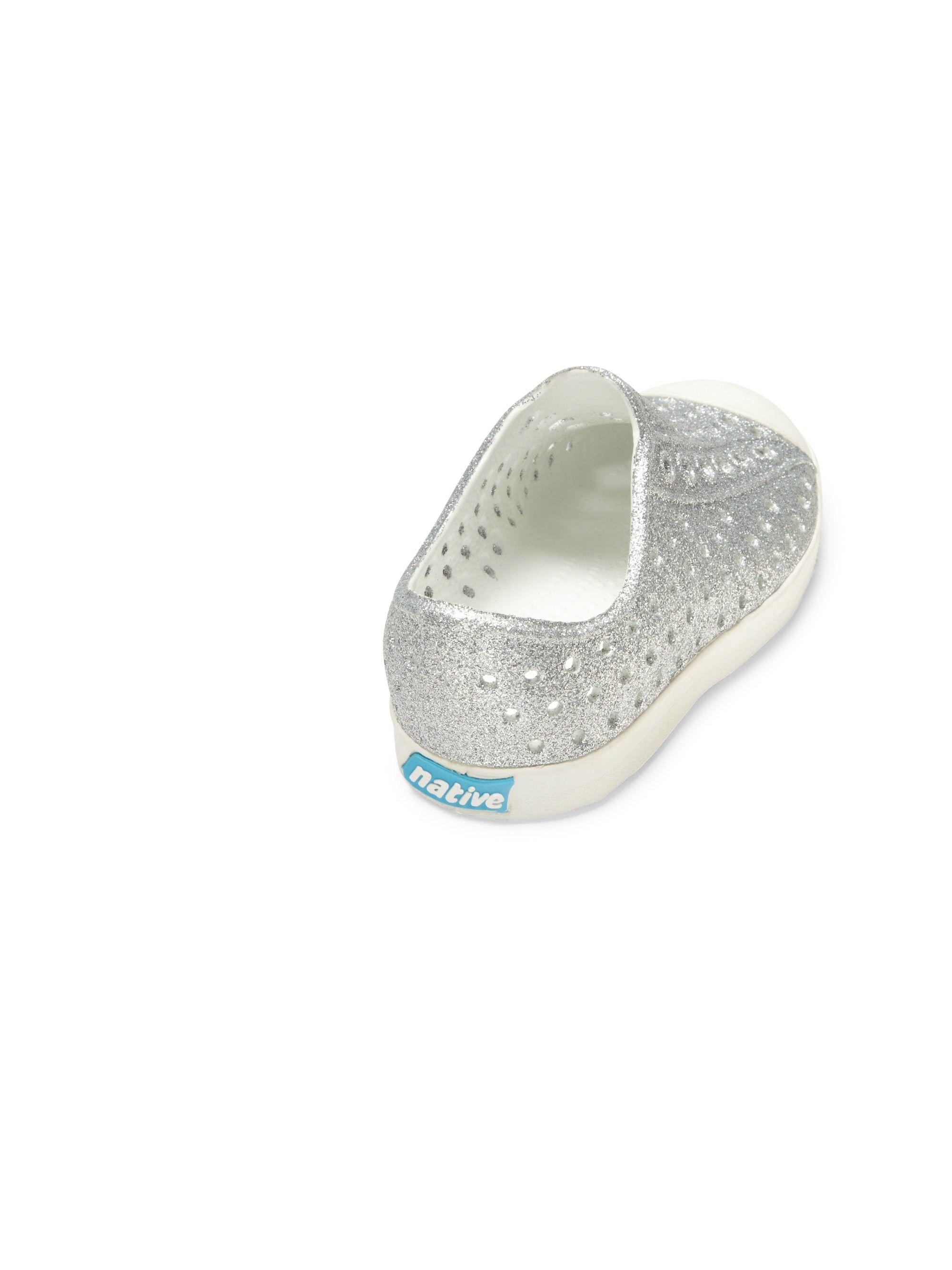 da14b5508ded Native Shoes Kids Toddler s   Girl s Jefferson Child Bling Slip-On Sneakers  - Milk Pink 10 (Toddler)