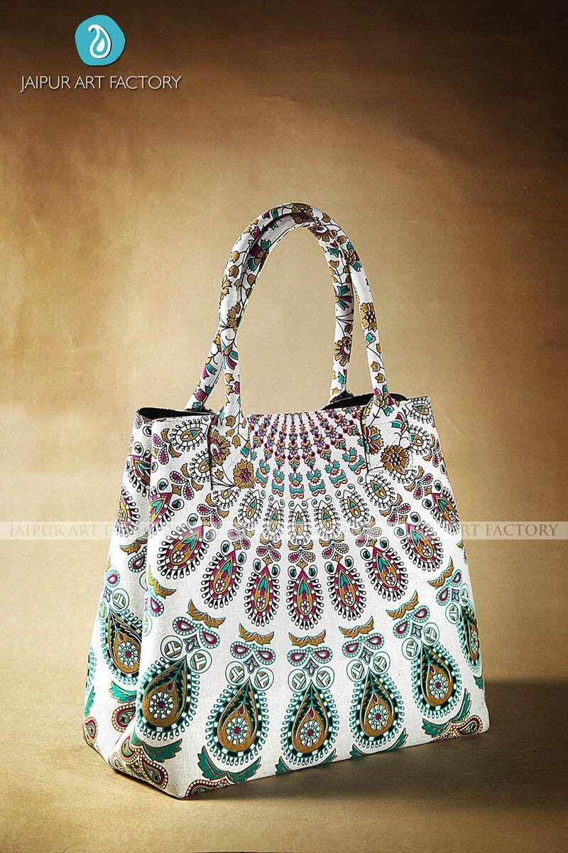 Buy RAKSHA MANDALA BAG | Jaipur Art Factory