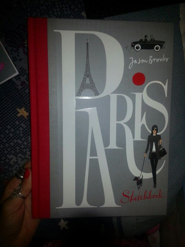 #paris   #sketchbook by Jason Brooks #fashion #book #lawrenceking publishing