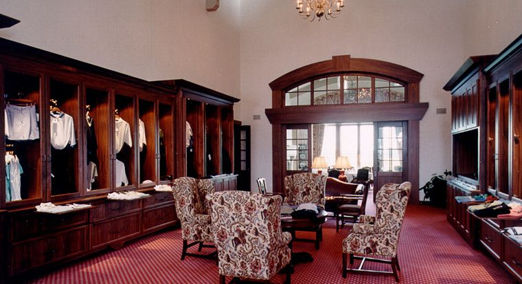 Milwaukee Country Club Locker Room