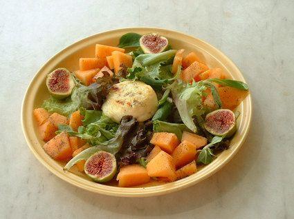 Picodon au melon et aux figues