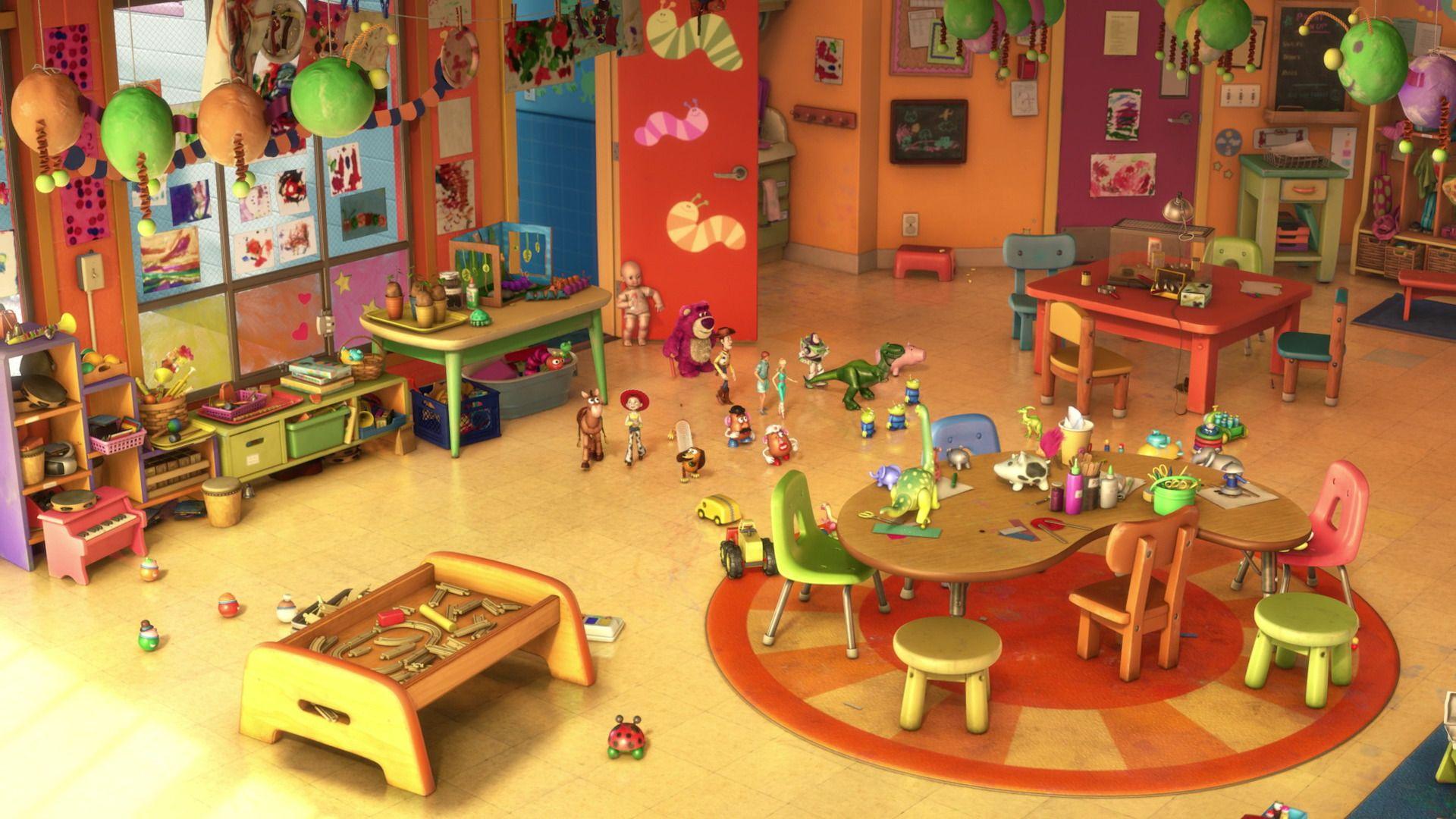 Environnement Meubles Jouets Toy Story3 Disneyscreencaps