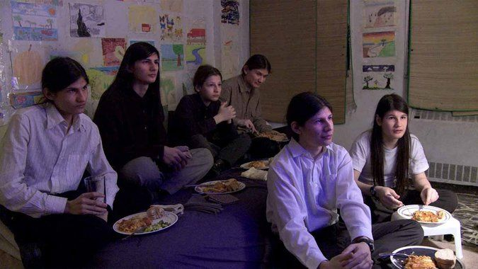 'The Wolfpack' Tells of One New York Apartment With Seven Children Locked Inside -It's quite a tale: Seven children, all with waist-length hair, are raised on welfare in a messy four-bedroom apartment on the Lower East Side of Manhattan. And they are almost never allowed to leave the house. For years. NYTimes.com (1.23.15)