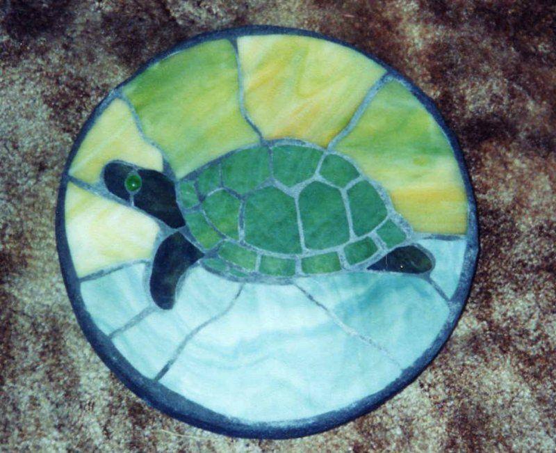 Turtle Stepping Stone Secret Garden Pinterest