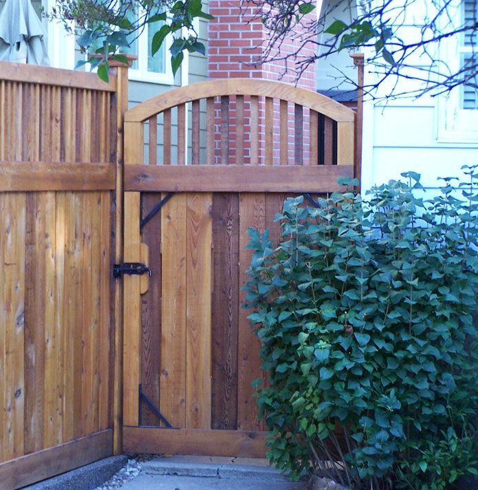 Google image result for for Craftsman style fence