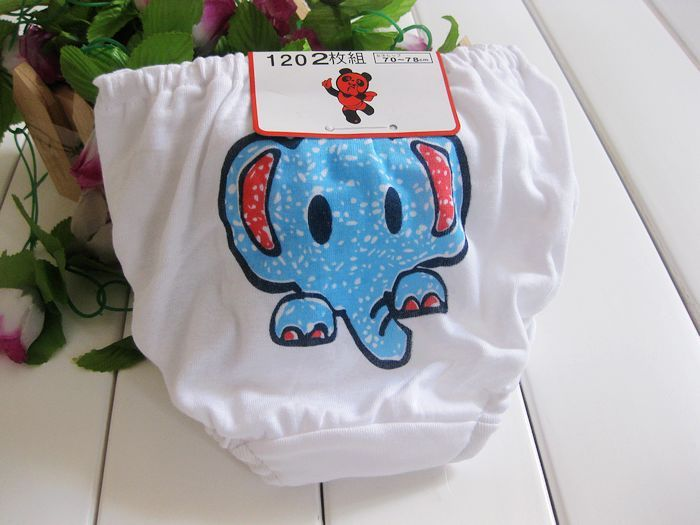 Promotional discounts 1-7 years Free Shipping 100%Cotton Childrens Underwear  Cute Design Girls 3130bd554
