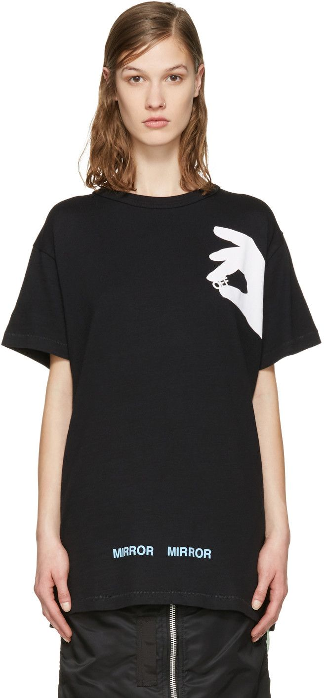 f14ba64112f85 OFF-WHITE Black Hand 'Off' T-Shirt. #off-white #cloth #t-shirt | Off ...